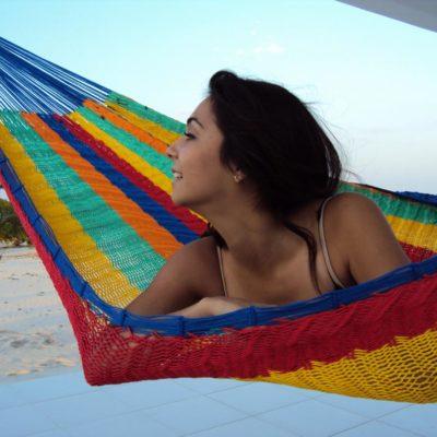 Mehiške viseče mreže - debelejše tkanje